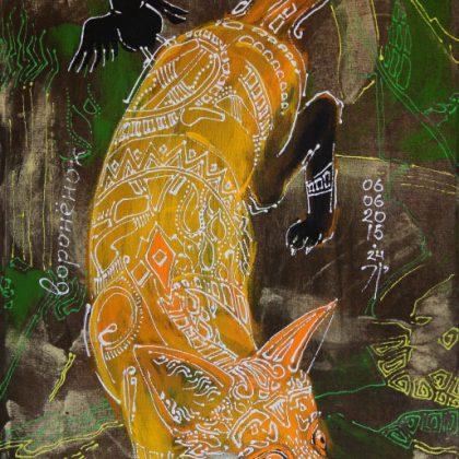 Лисёнок и воронёнок
