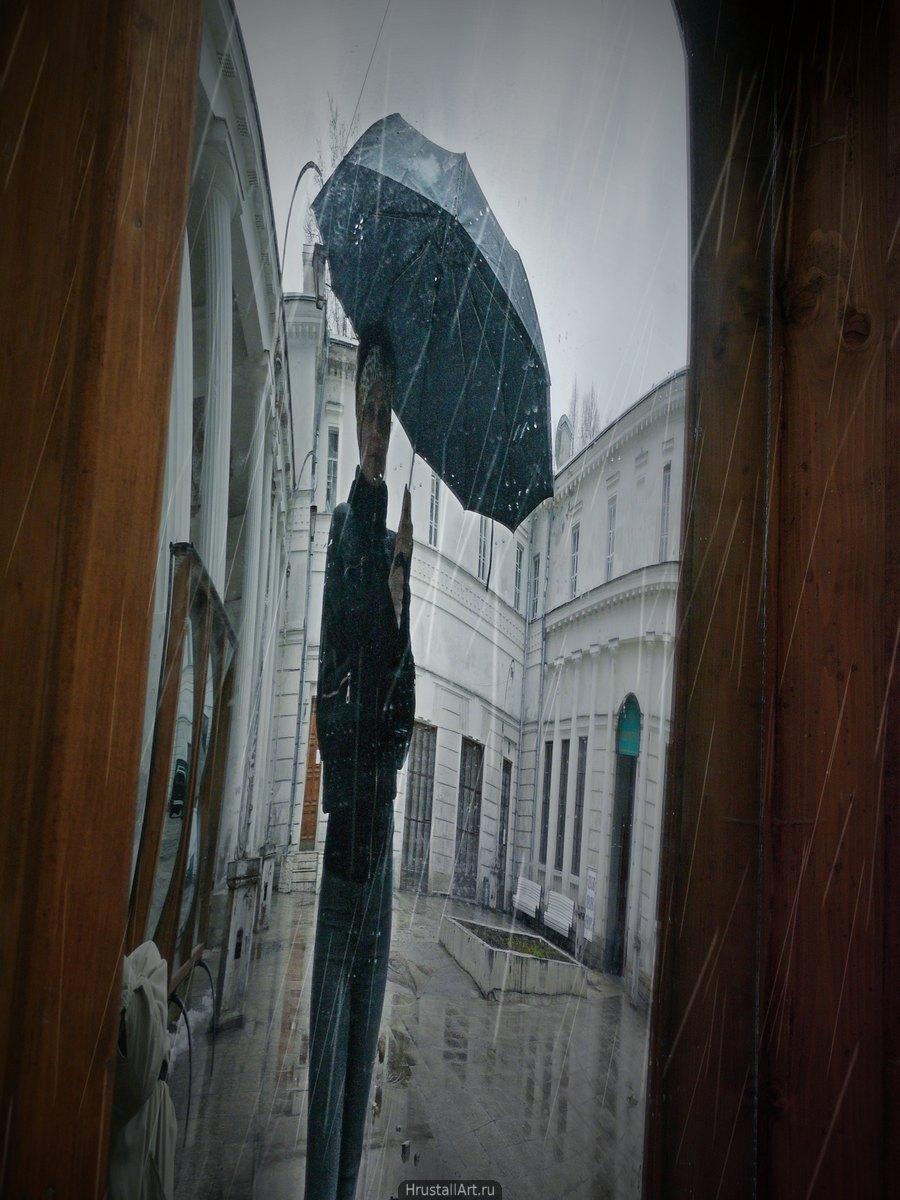 Дождь и кривое зеркало