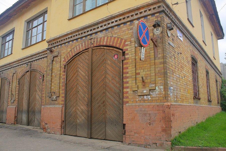 Старая пожарная станция.
