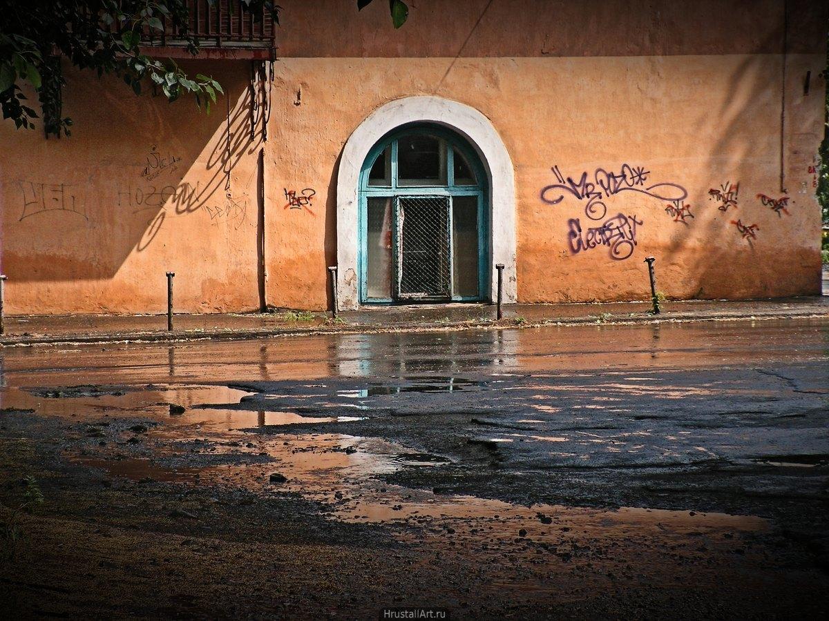 Окно и графити
