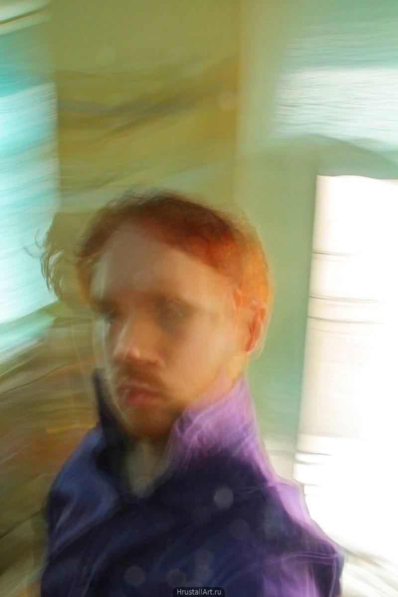 2010, «Автопортрет в духе импрессионизма», фото: Дмитрий Хрусталёв