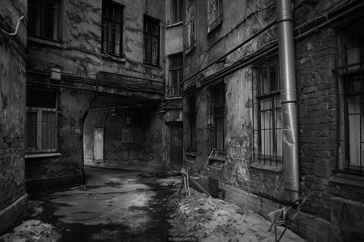 Петербург, вид сзади