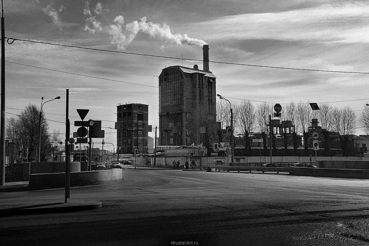Угольные башни