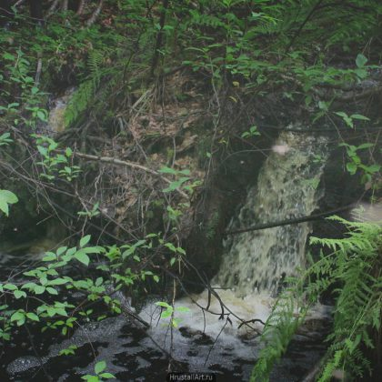 Болотный водопад