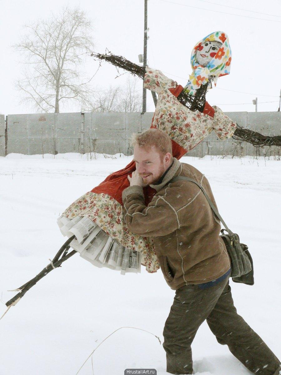2009, «Э-э-э-э-э-эй! Стой! Куда масленицу потащил?!», фото: Александр Исаков