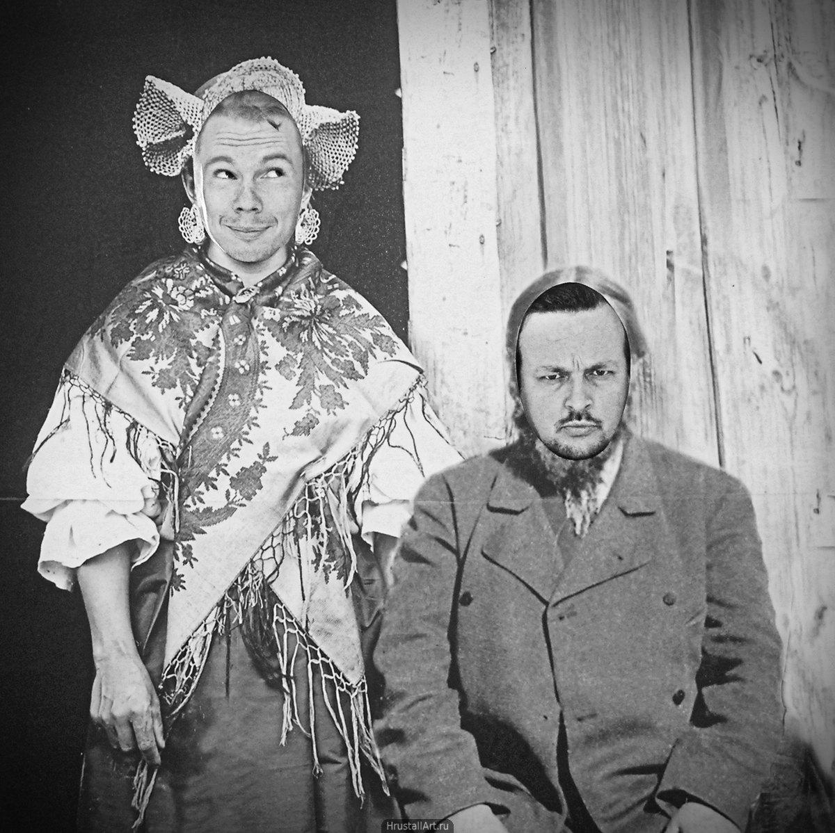 2005, «Семья карельских крестьян», фото: Дмитрий Хрусталёв, Музей «Кижи», Петрозаводск
