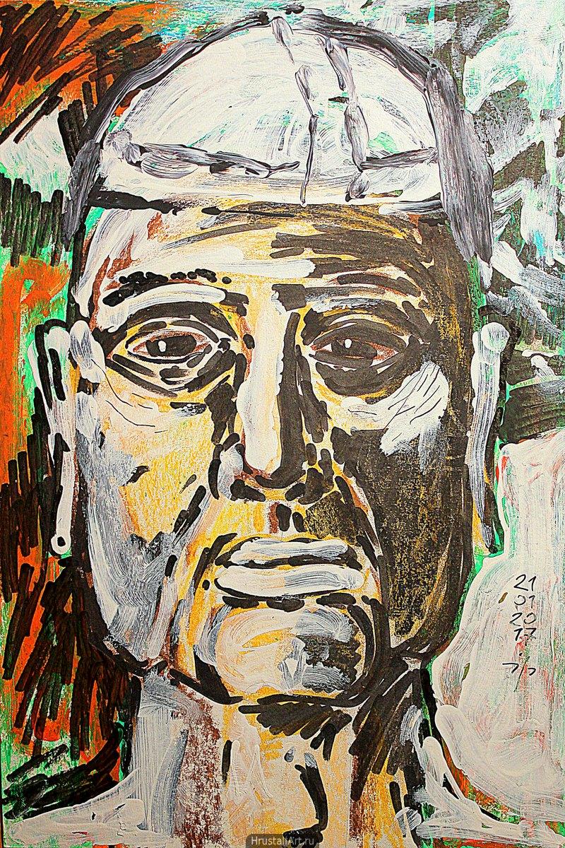 Наивный портрет Папы