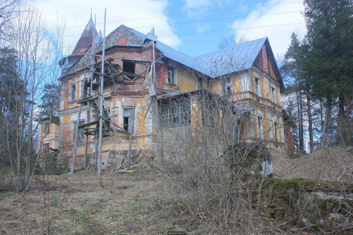 Брошенные реставрационные работы