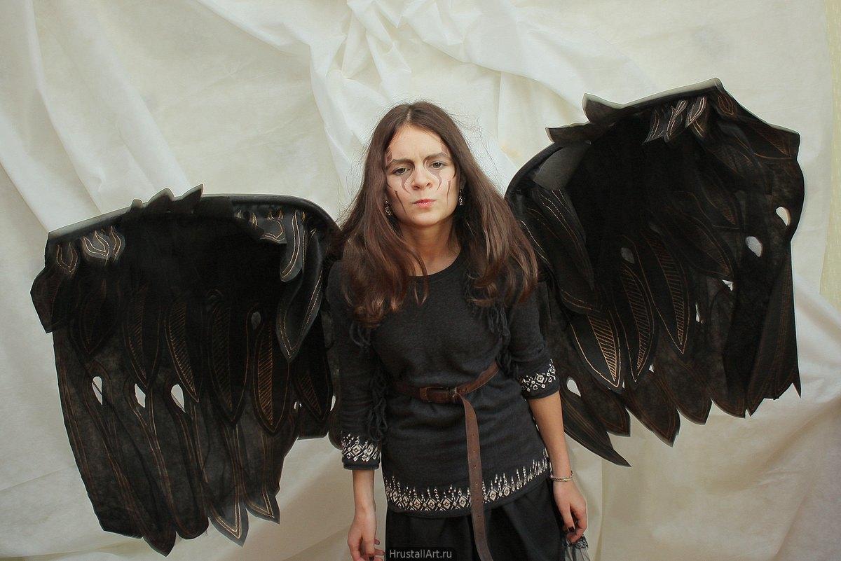 Костюм Ворона на Хэллоуин
