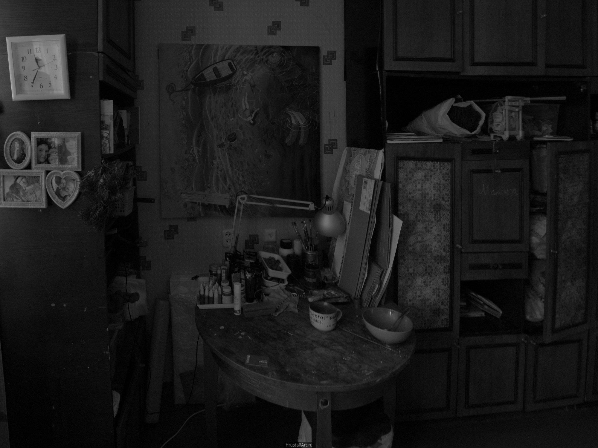 Мой рабочий стол и его окружение
