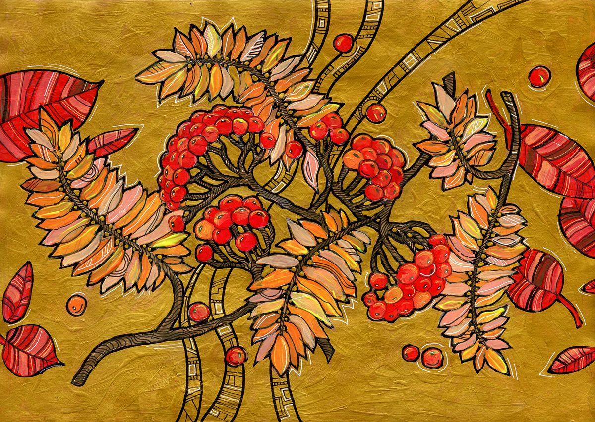 Осенний цвет