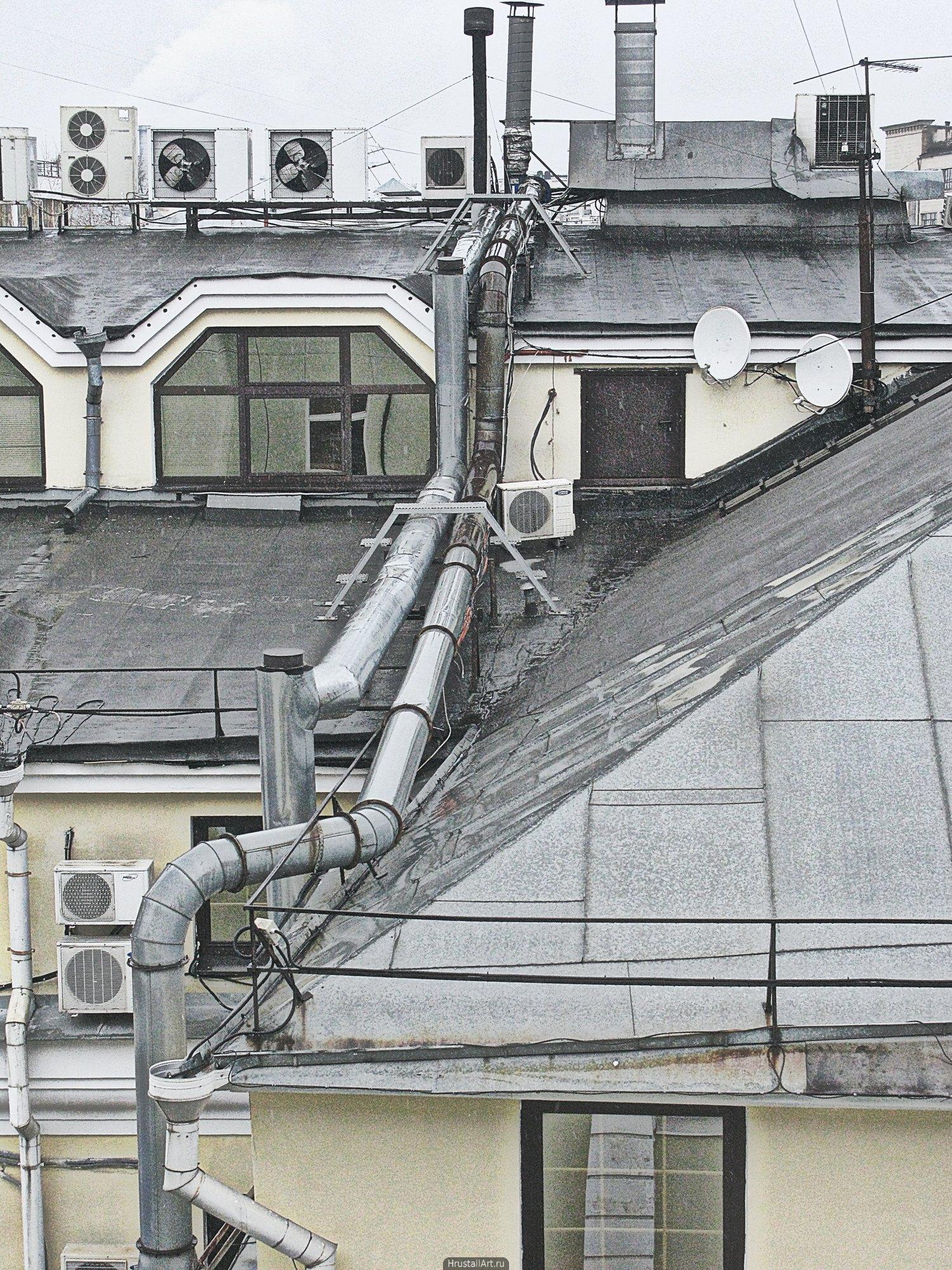 Крыши и вентиляции