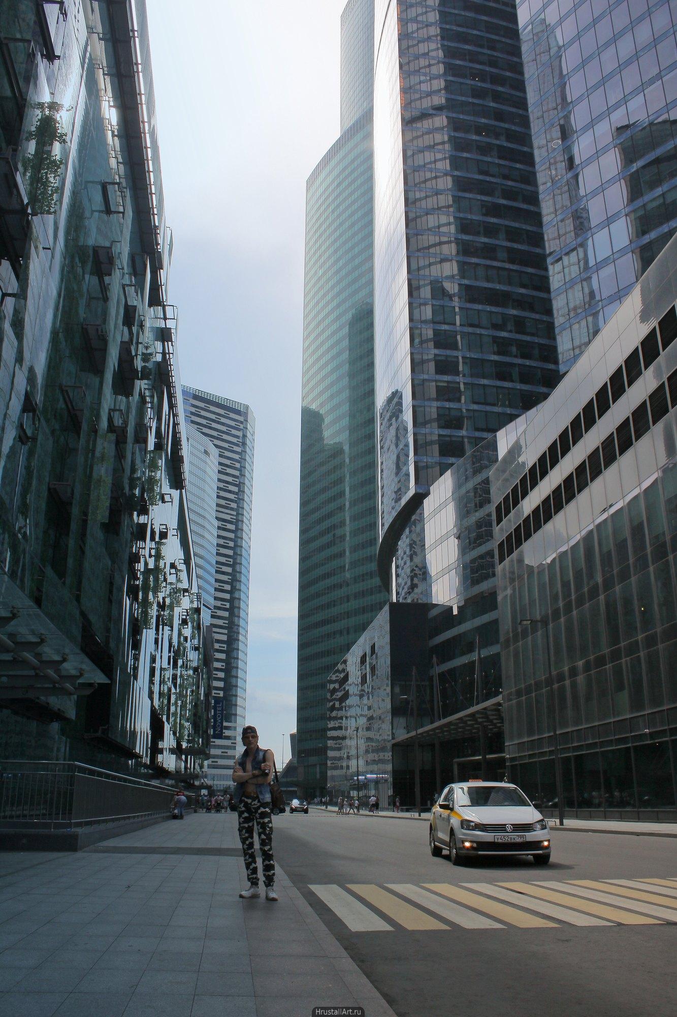 Улица небоскребов